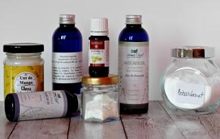 Ingrediente produse cosmetice vegane acasa
