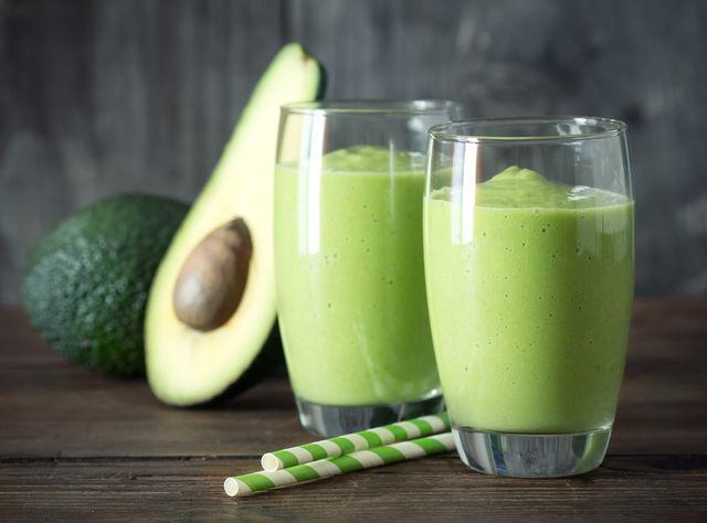 Bio drink-smoothie cu avocado si spanac- D2-MD