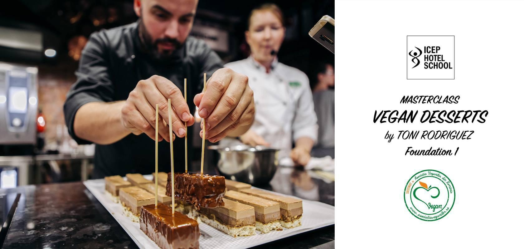 Cum a fost la Vegan Pastry MasterClass by Toni Rodriguez