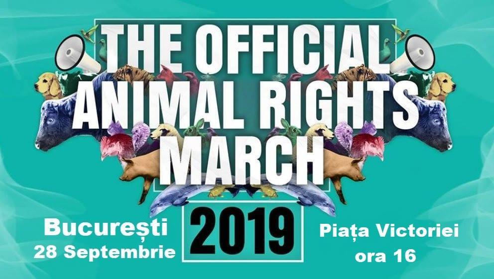 Marșul Oficial pentru Drepturile Animalelor – București