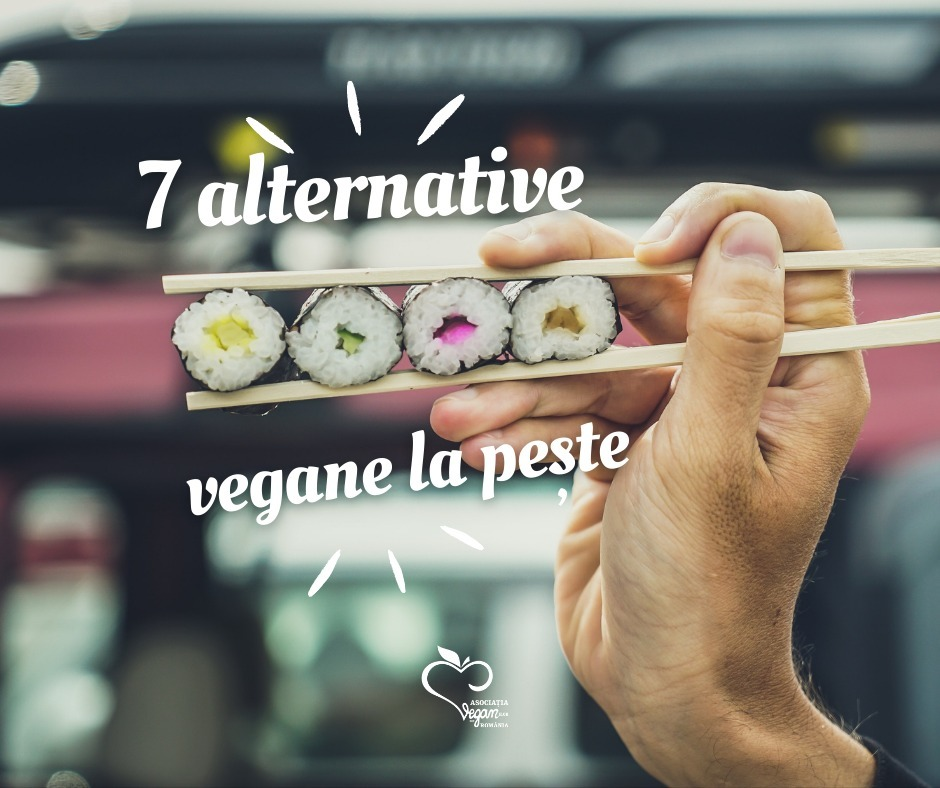 7 alternative vegane la pește